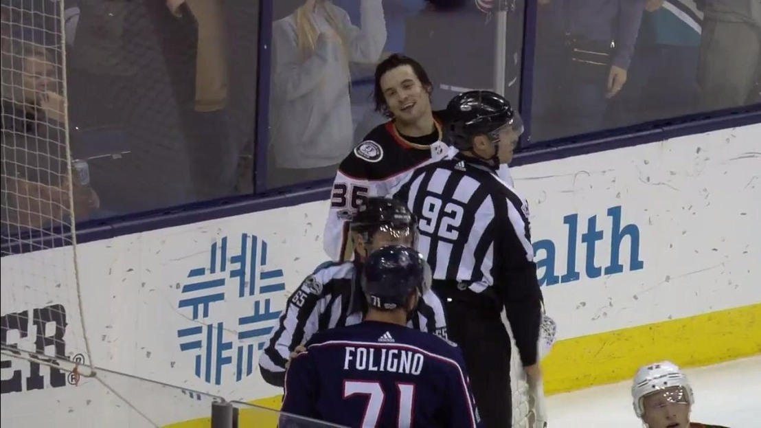 Gibson and Foligno- dec 1 vs Columbus