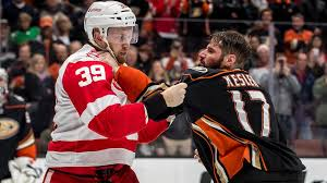 Kesler Fight on 3-16-18 vs Detroit
