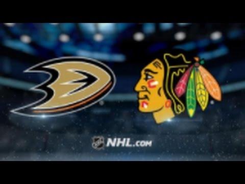 Ducks vs Blackhawks