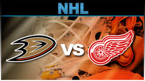 Ducks vs Red Wings