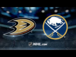 Ducks vs Sabres