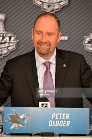 Head Coach Peter DeBoer- by getty images