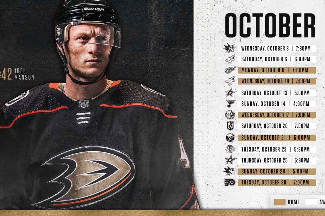 Ductober games by the Anaheim Ducks – Megz Ducks Hockey Blog 321d7656c