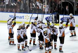 Ducks salute Moms- OC Register
