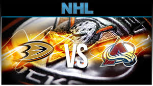 Ducks vs Avalanche