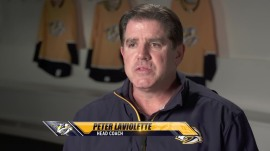 Head Coach Peter Laviolette- youtube