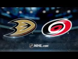 2- Ducks vs Hurricanes