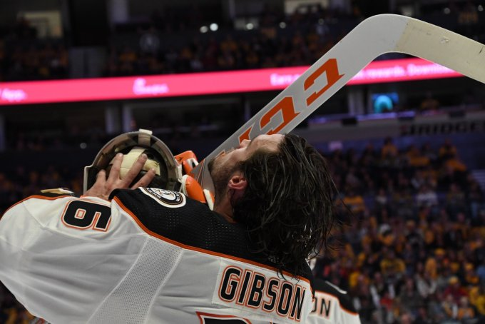 Gibson on GIBBY TIME- Anaheim Ducks