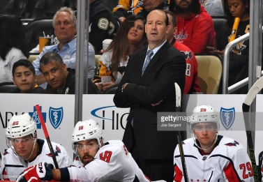 Head Coach Todd Reirden- Getty Images