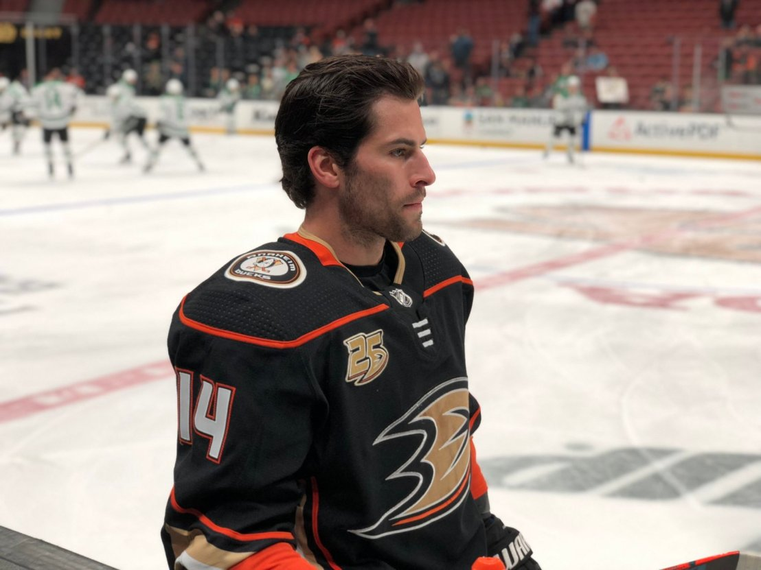 henrique game face- anaheim ducks